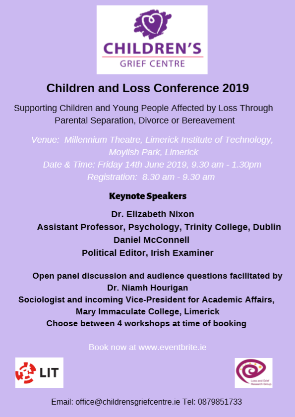 Children & Loss Conference 2019
