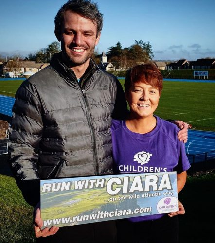 Ciara McCullough with Thomas Barr